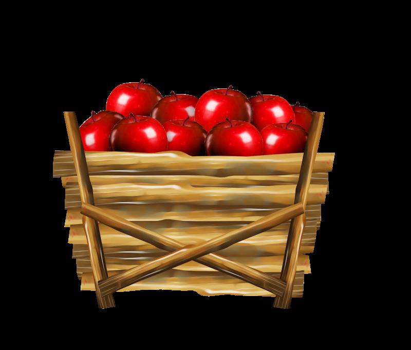 Free apple basket clipart png Apple Basket Clip art - Basket of apples 800*681 transprent Png Free ... png