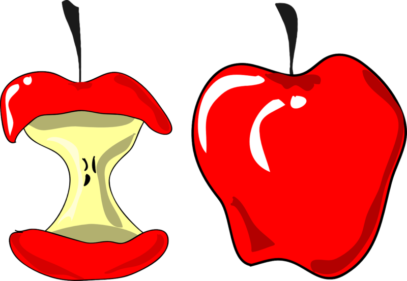 Free apple clipart for teachers transparent 60+ Free Apple Clipart For Teachers Images Black And White【2018】 transparent