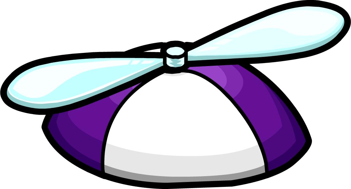 Free april fools clipart image freeuse library Purple Propeller Hat | Club Penguin Wiki | FANDOM powered by Wikia image freeuse library