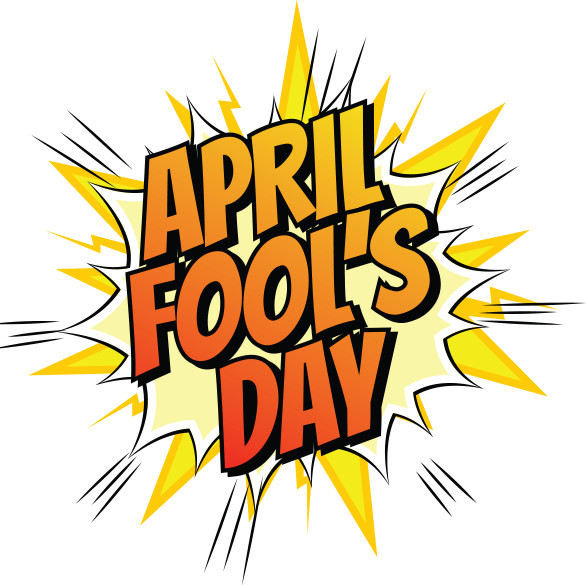 This is no april fools clipart svg library stock April Fools - Fenix Lighting svg library stock