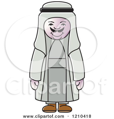 Free arabic clip art clipart transparent library Clipart of an Arabic Woman - Royalty Free Vector Illustration by ... clipart transparent library