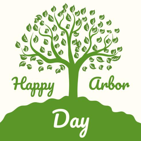 Free arbor day clipart picture free download Happy Arbor Day - Download Free Vector Art, Stock Graphics & Images picture free download
