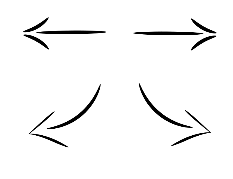 Free arrow clipart black white vector royalty free download Clipart - arrow vector royalty free download