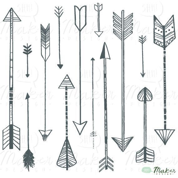 Free arrow clipart images image freeuse stock Free vintage arrow clip art - ClipartFest image freeuse stock