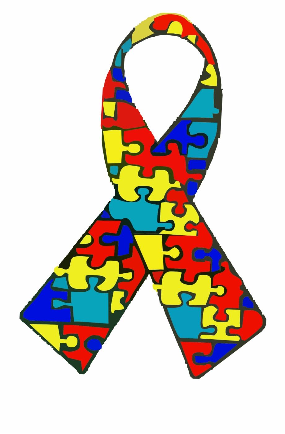 Free autism awareness ribbon clipart clip royalty free download Autism Clipart Autism Awareness - Autism Spectrum Disorder Logo ... clip royalty free download
