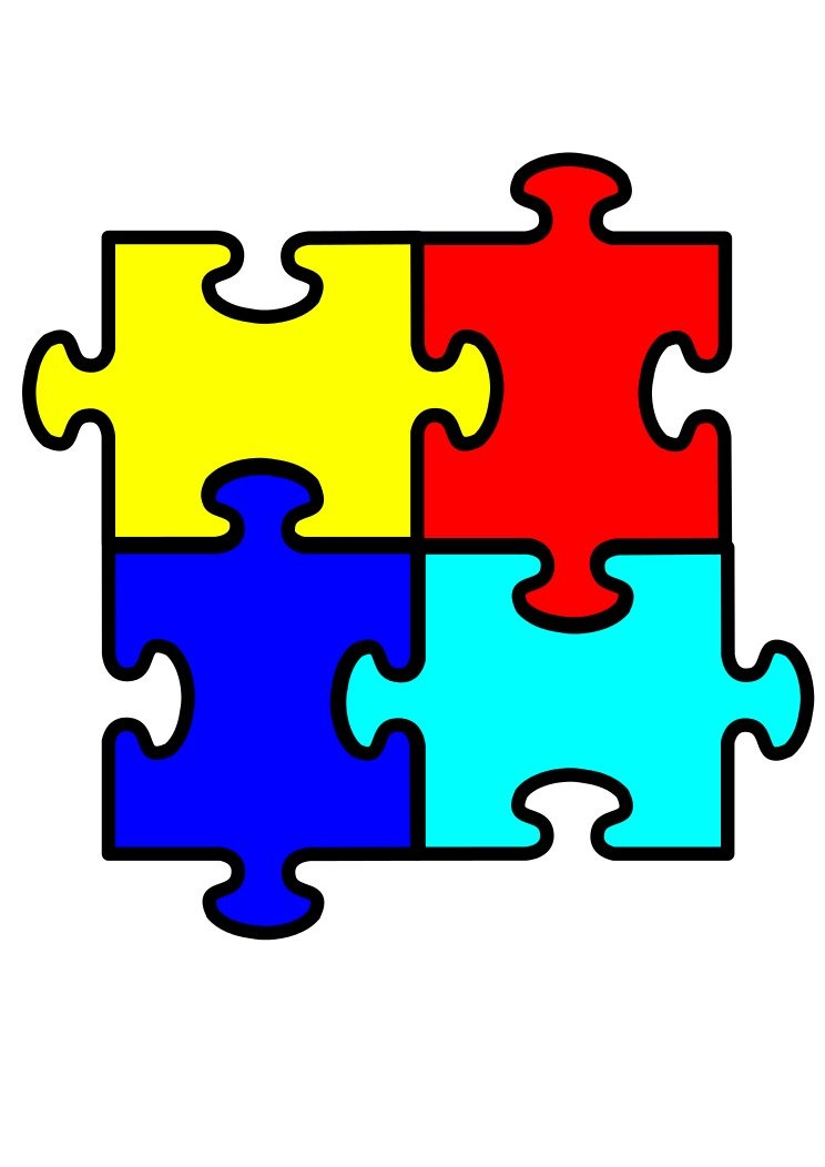 frees that you. Free autism puzzle piece clipart