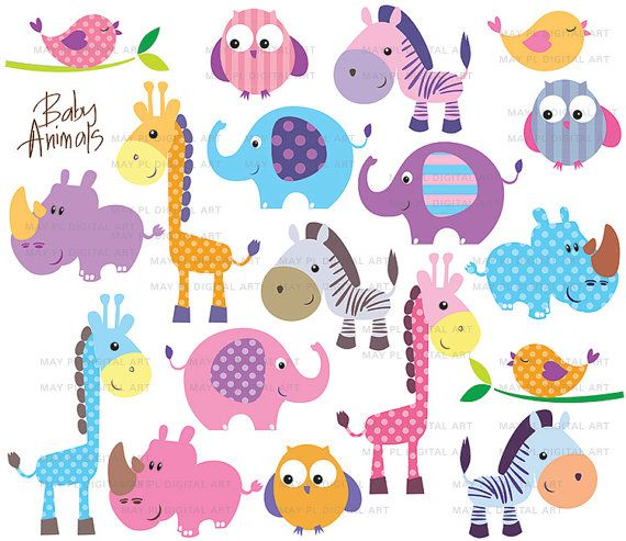 Free baby animal clipart png library Free Baby Animal Clip Art | Clipart Panda - Free Clipart Images png library