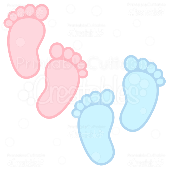 Free baby foot print clipart graphic freeuse stock Baby Footprints Free SVG Cuts & Clipart | labels | Baby svg, Baby ... graphic freeuse stock