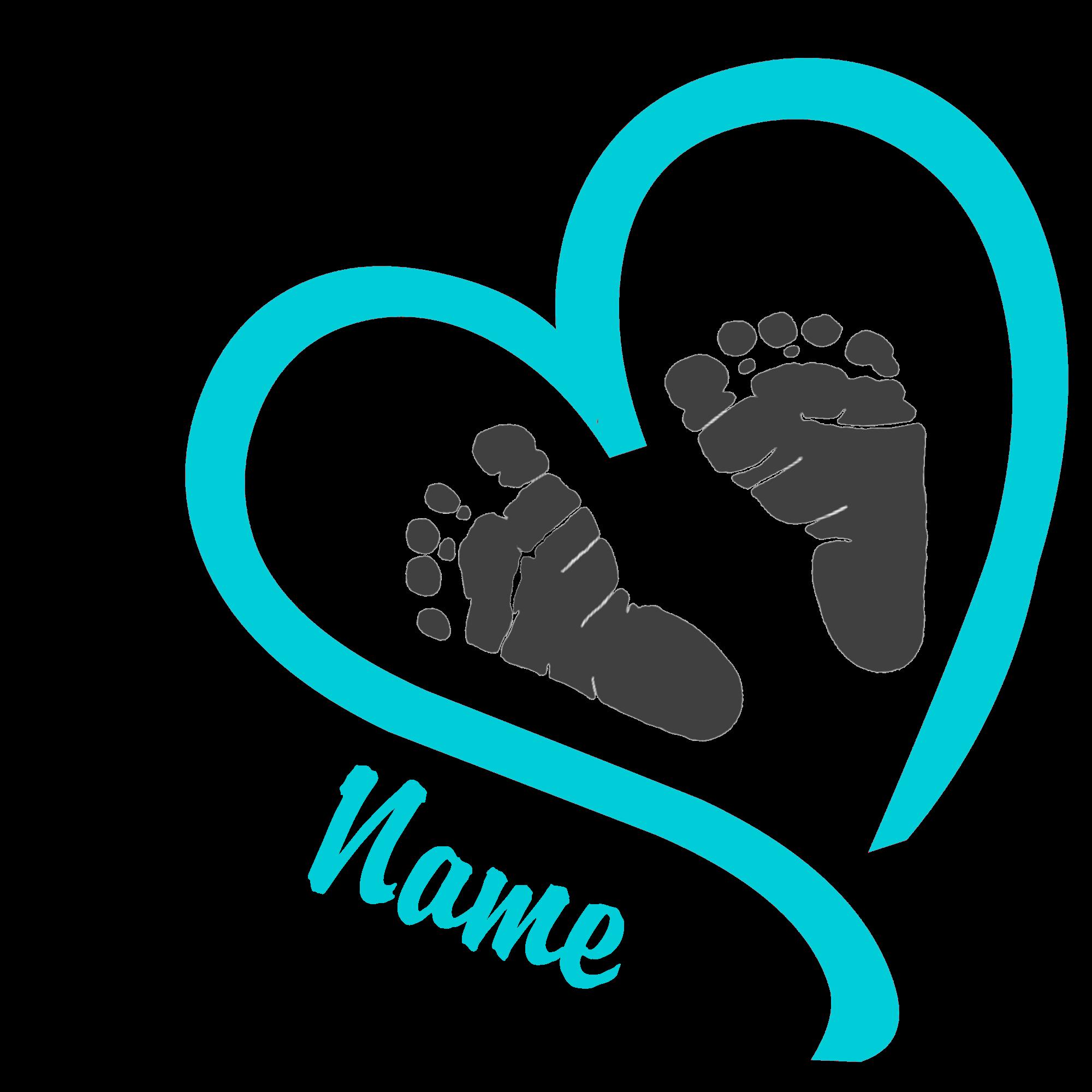Free baby footprint border clipart. Feet clip art gclipart