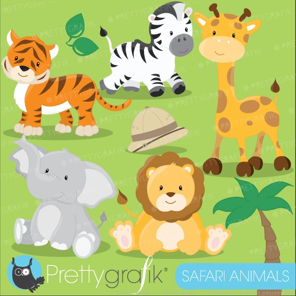 Free baby jungle animals clipart png royalty free download Free baby jungle animal clipart 5 » Clipart Portal png royalty free download