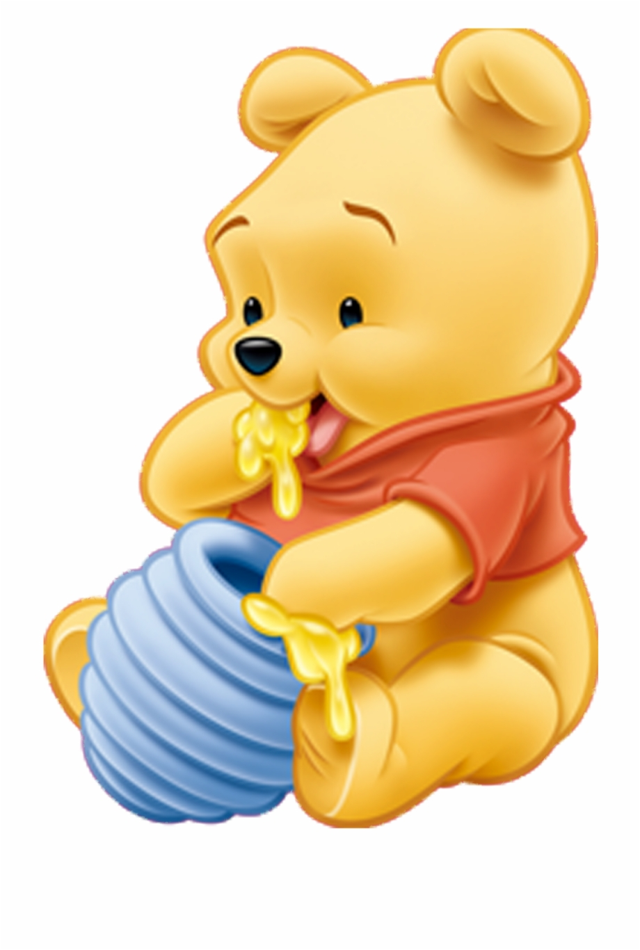 Free baby winnie the pooh clipart banner royalty free download Winnie Pooh - Baby Winnie The Pooh Clipart {#41744} - Pngtube banner royalty free download
