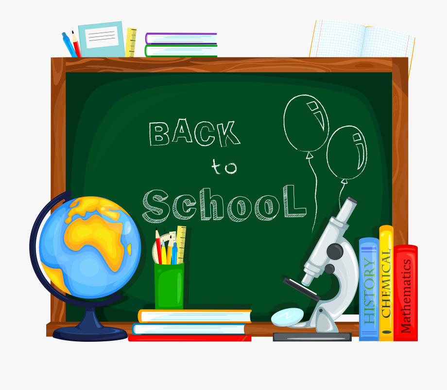 Where is the school clipart svg royalty free Back To School Clipart - Transparent Back To School Clipart #14527 ... svg royalty free