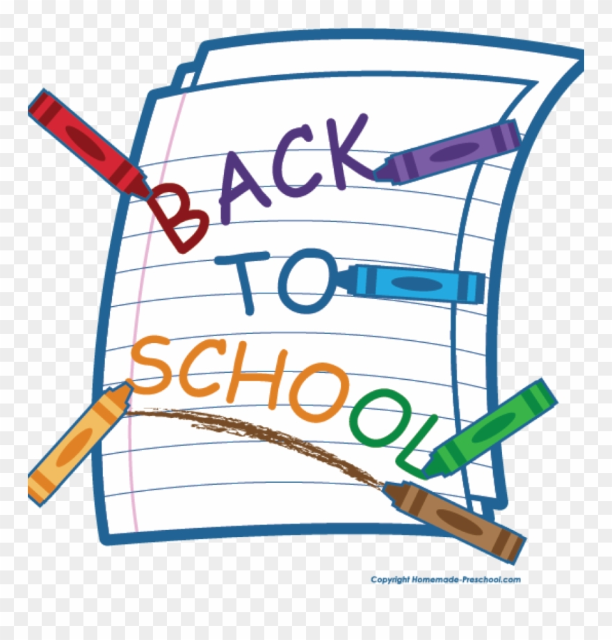 Free photo clipart. School back to clip