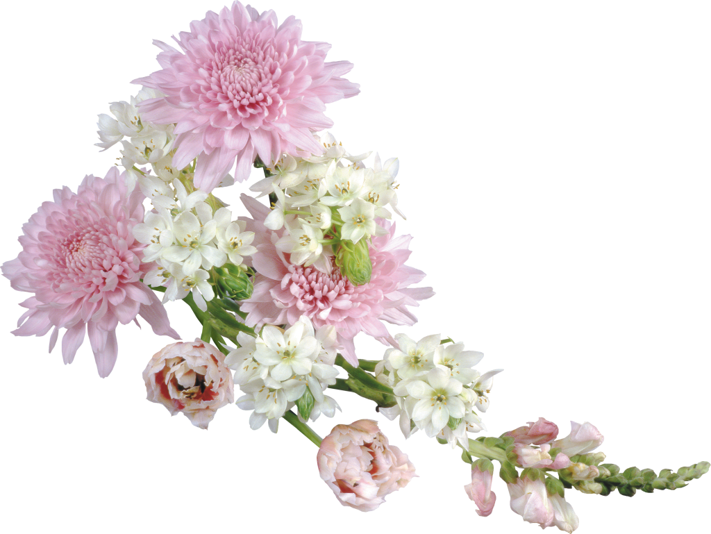 Blush pink flower clipart image royalty free Transparent Soft Flower Arrangement Clipart | Gallery Yopriceville ... image royalty free
