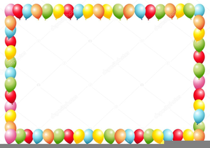 Free balloon clipart border banner freeuse Balloon Borders Clipart | Free Images at Clker.com - vector clip art ... banner freeuse