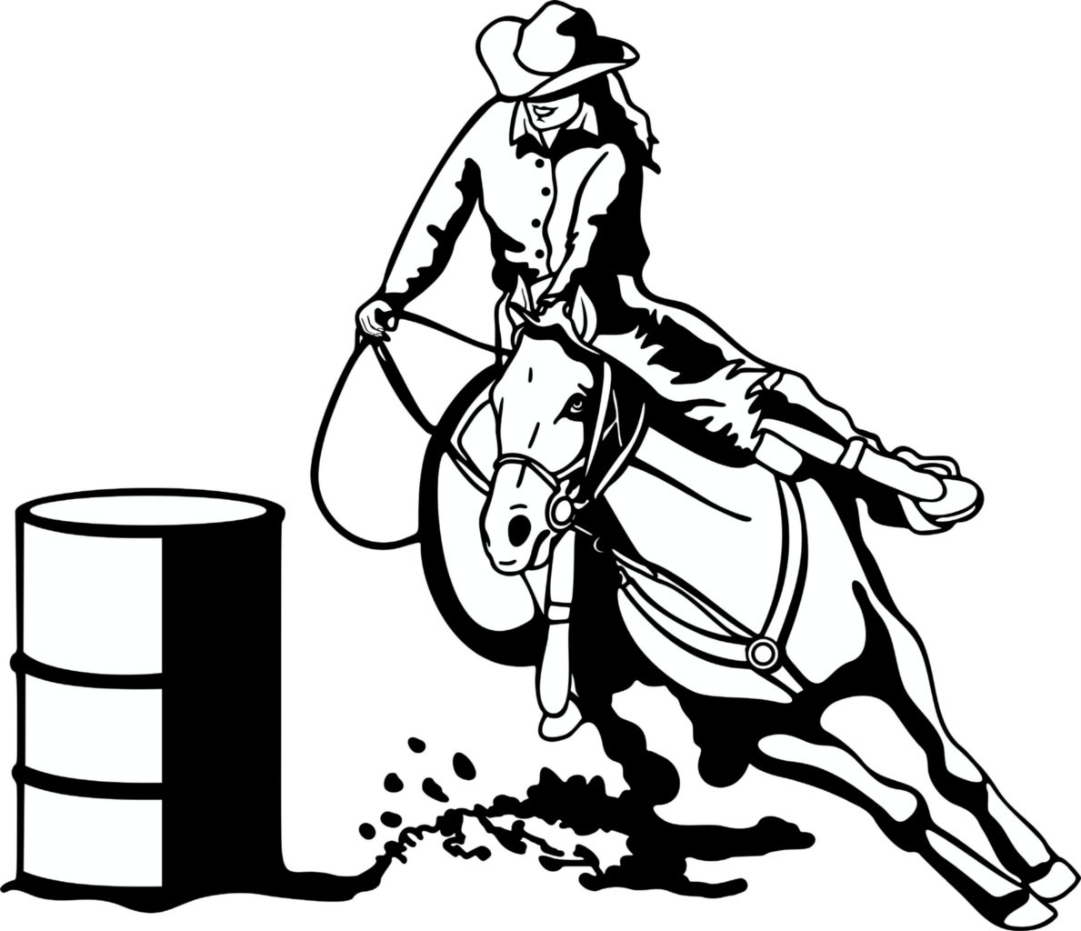 Free barrel racing clipart graphic library download Free Barrel Horse Cliparts, Download Free Clip Art, Free Clip Art on ... graphic library download