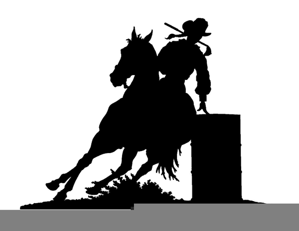 Free barrel racing clipart jpg free Barrel Racing Vector Clipart Free Images At Clker Com Outstanding ... jpg free