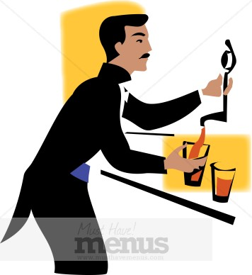 Free bartender clipart graphic freeuse download Beer Bartender Clipart | Clipart Panda - Free Clipart Images graphic freeuse download