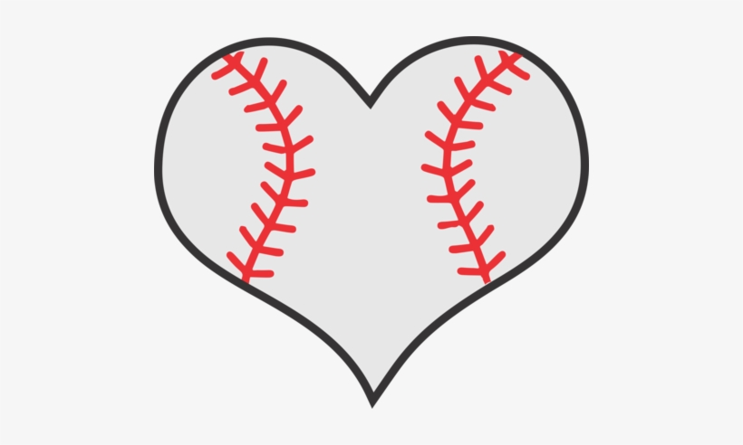 Free baseball heart clipart graphic free stock Clipart Stock Softball Transfers Page Albb Blanks - Baseball Heart ... graphic free stock