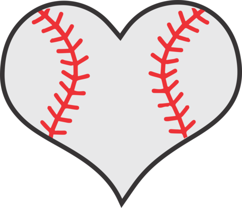 Free baseball heart clipart clip royalty free stock Heart baseball clipart clipart images gallery for free download ... clip royalty free stock