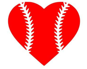 Free baseball heart clipart jpg freeuse stock Baseball Heart Vector Images Baseball Heart Clip Art - Free Clipart jpg freeuse stock