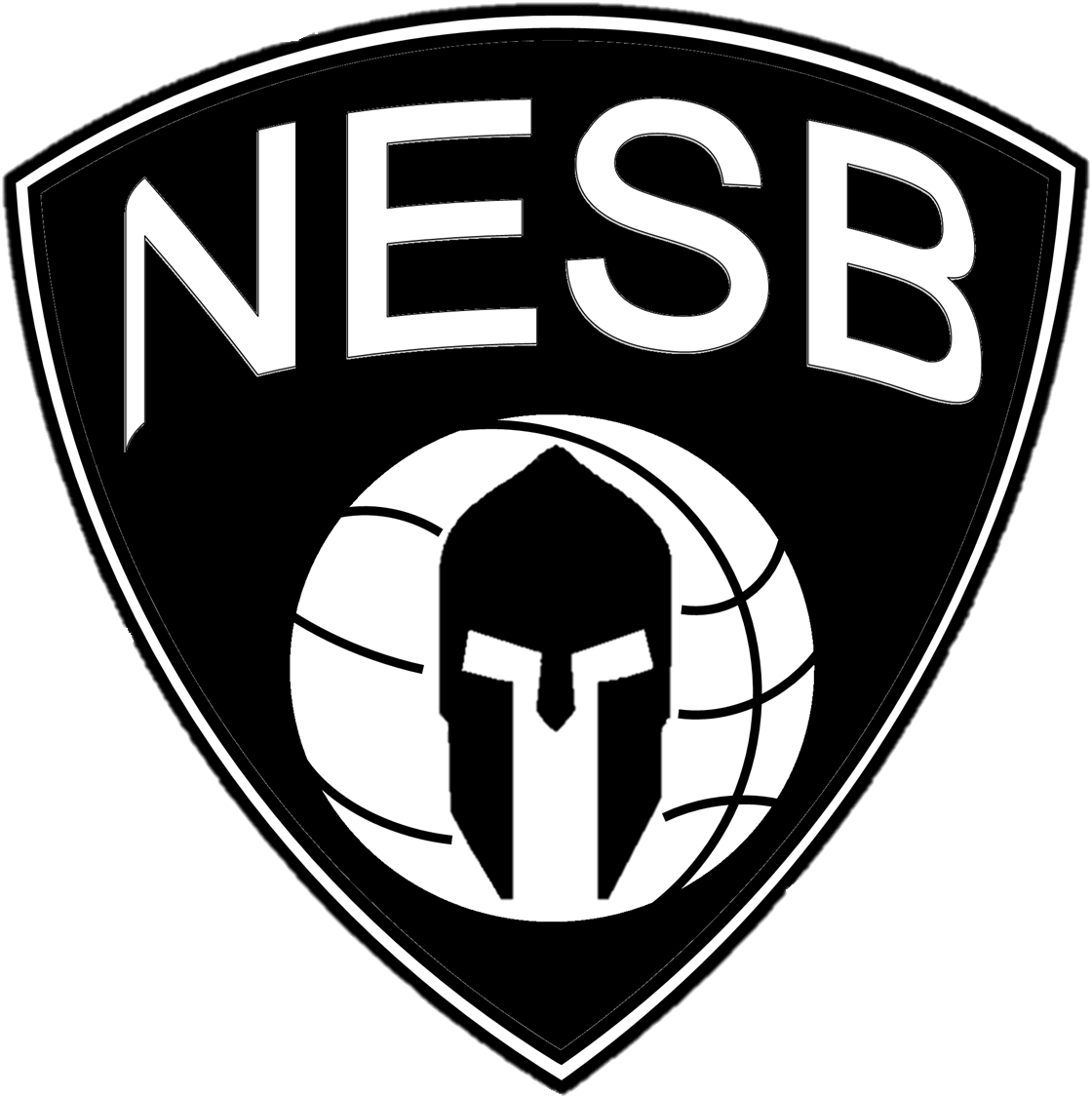 Free basketball clipart blue spartan clipart black and white stock New England Spartan Basketball (NESB) clipart black and white stock