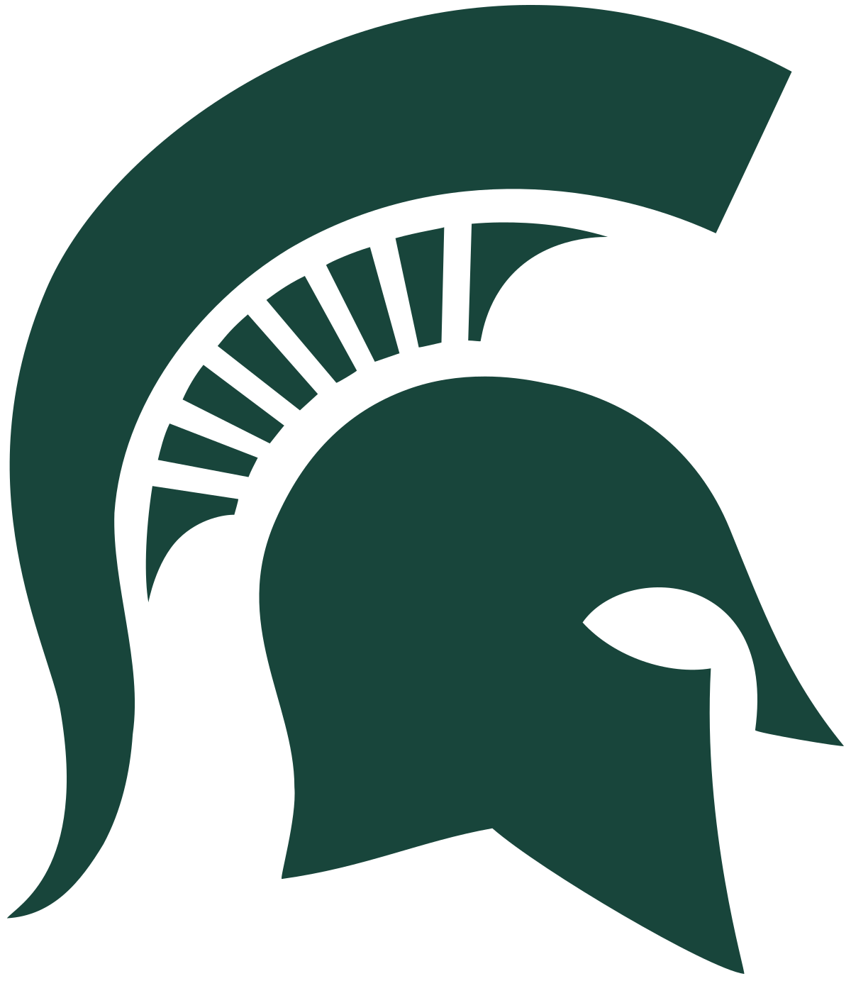 Michigan State Spartans - Wikipedia clipart black and white download