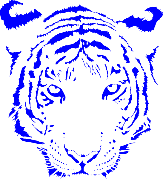 Free basketball clipart tiger image royalty free stock Tiger Face Clip Art Color | Clipart Panda - Free Clipart Images image royalty free stock