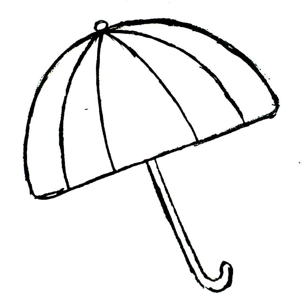 Free beach umbrella black and white clipart jpg clip free Umbrella black and white beach umbrella clipart black and white free ... clip free