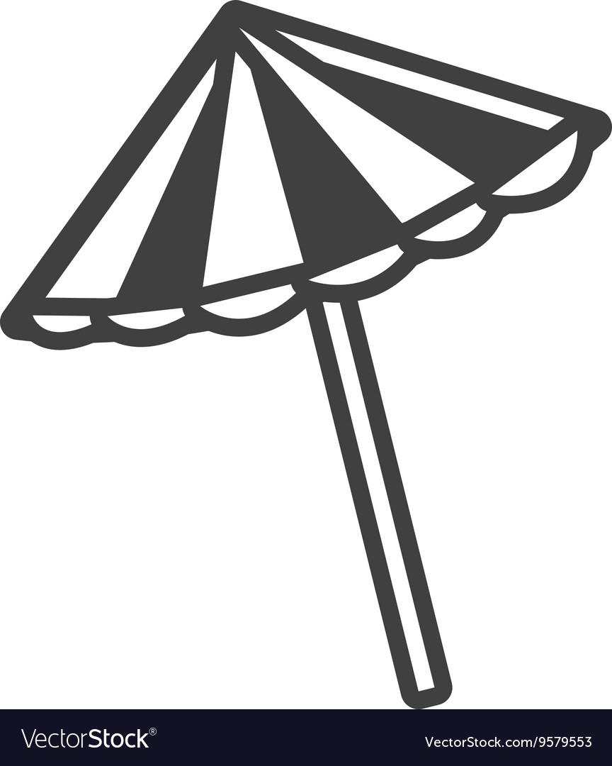 Library of free beach umbrella black and white clip art ... (864 x 1080 Pixel)