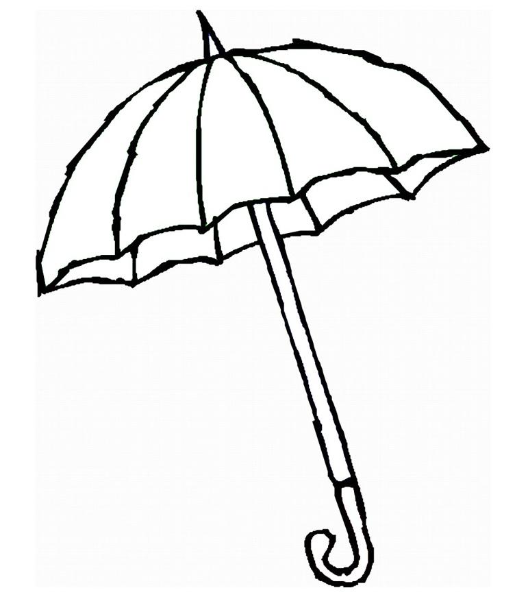 Free beach umbrella black and white clipart jpg vector freeuse stock Free Beach Umbrella Clipart, Download Free Clip Art, Free Clip Art ... vector freeuse stock