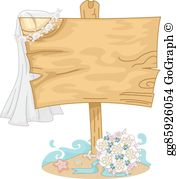 Free beach wedding clipart graphic royalty free library Beach Wedding Clip Art - Royalty Free - GoGraph graphic royalty free library