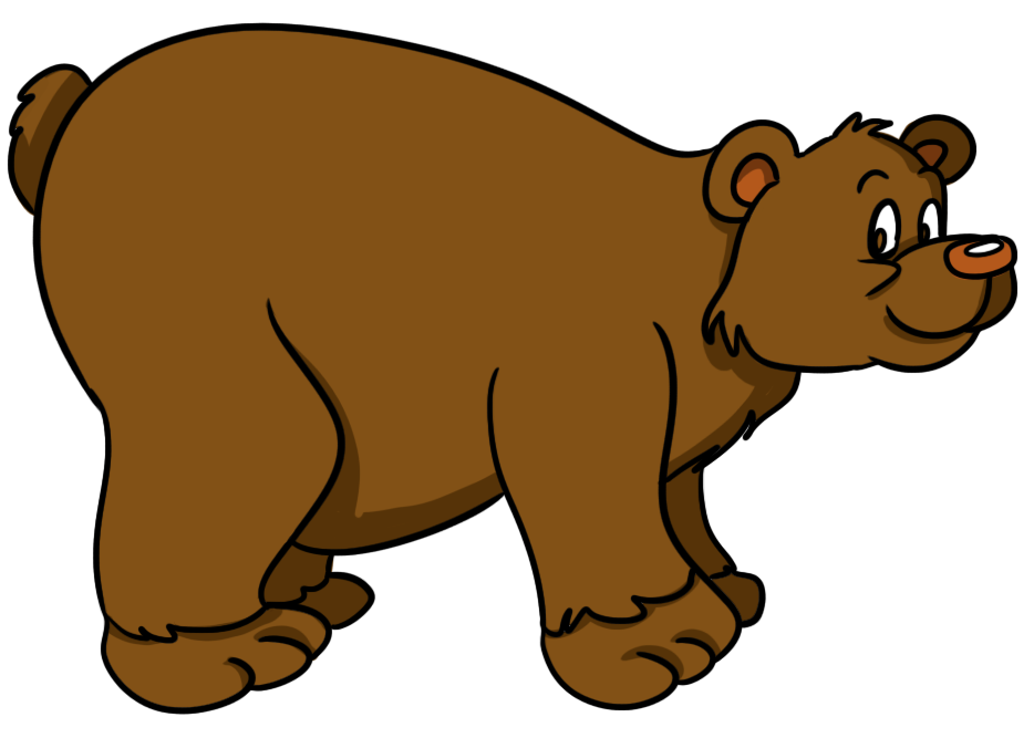 Free bear clipart images. Cute animal pictures for