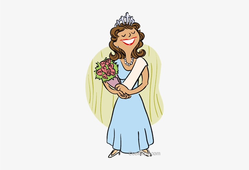Free beauty pageant clipart svg transparent Beauty Queen Royalty Free Vector Clip Art Illustration - Beauty ... svg transparent