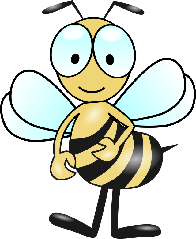 Free bee clipart for commercial use freeuse Bumble Bee Clip Art craft projects, Animals Clipart - Clipartoons freeuse