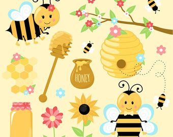 Free bee clipart for commercial use clip black and white download 1000+ ideas about Bee Clipart on Pinterest | Bees, Cute bee and ... clip black and white download