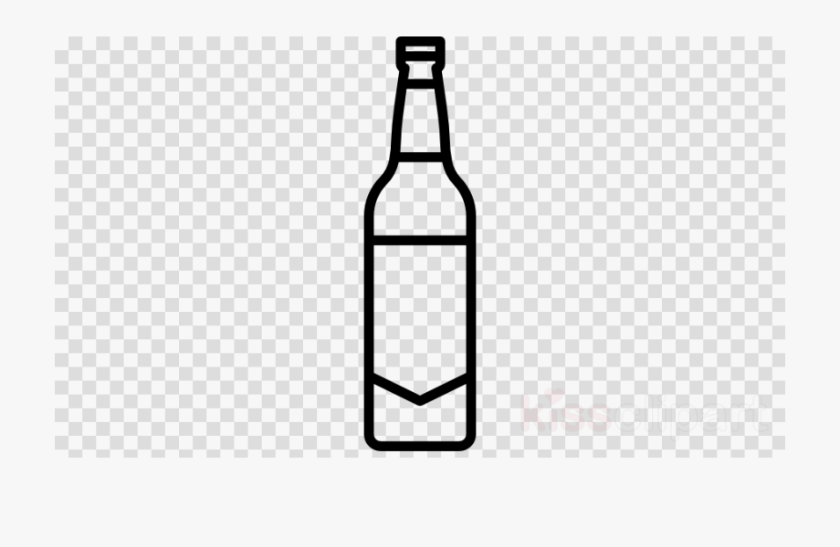 Free beer bottle clipart graphic free Beer Bottle Clipart Black And White - Plastic Bottle Clip Art ... graphic free