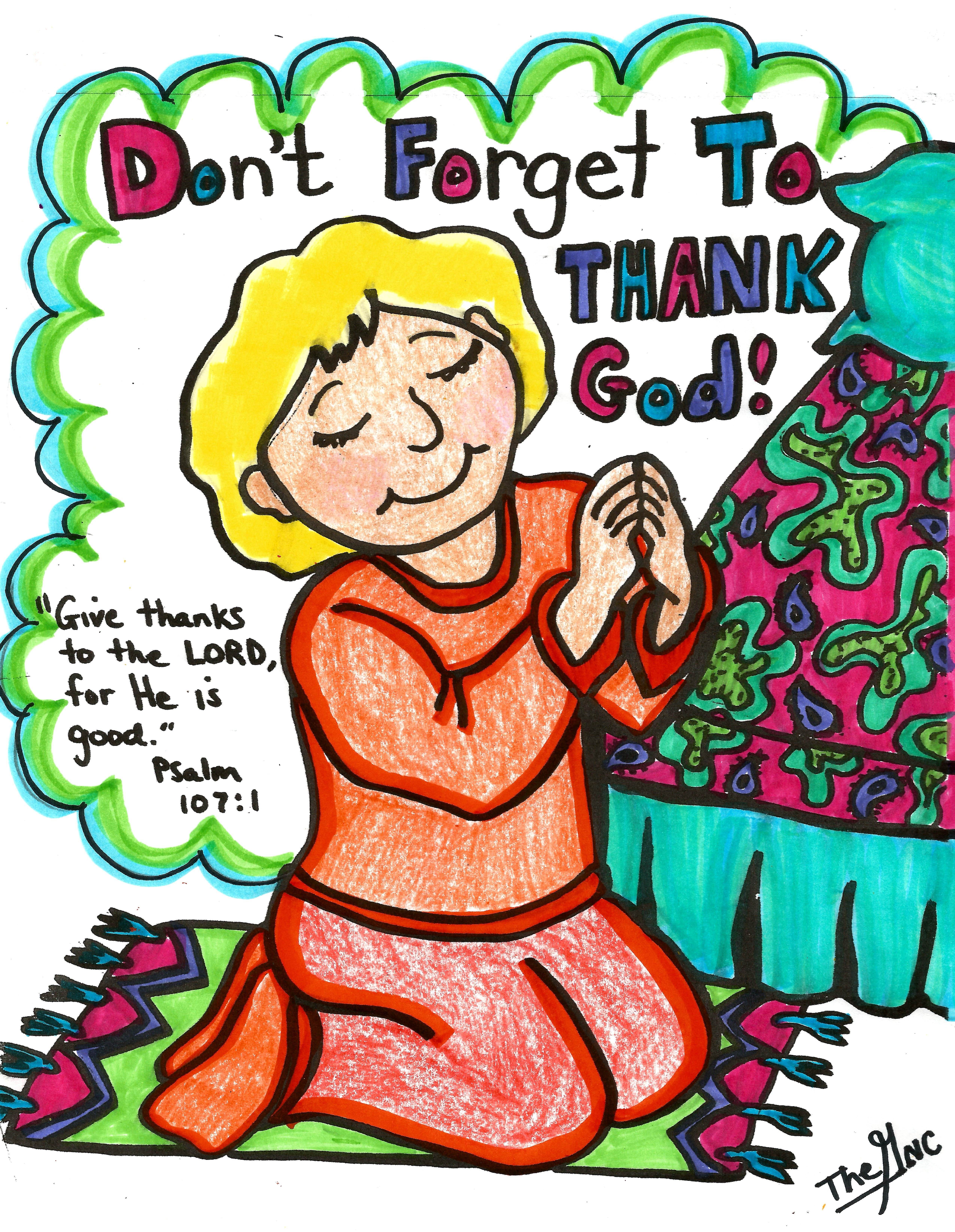 Free bible clipart jesus is my energy png download Don\'t forget to thank God! A free printable Coloring sheet of this ... png download