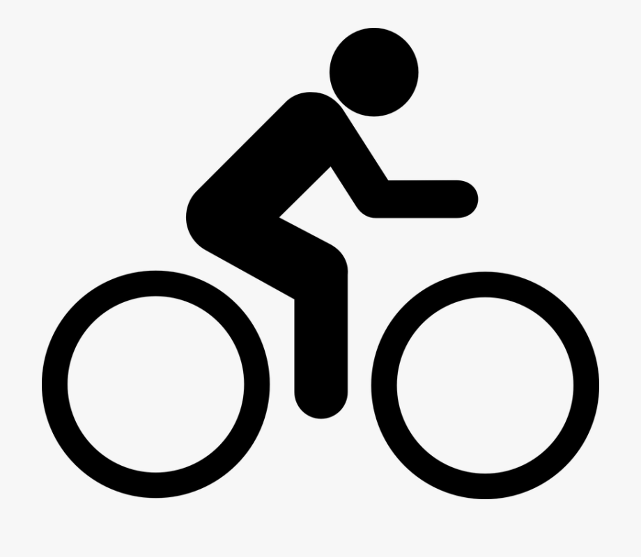 Free biker clipart png black and white stock Png Biker - Cycling Icon #709571 - Free Cliparts on ClipartWiki png black and white stock