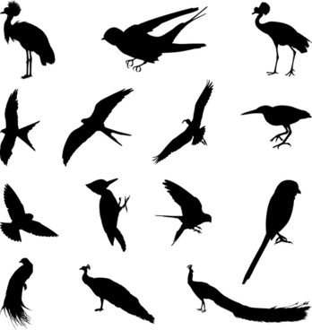 Free bird silhouette clipart clip library library Bird silhouette clip art free vector download (220,586 Free vector ... clip library library
