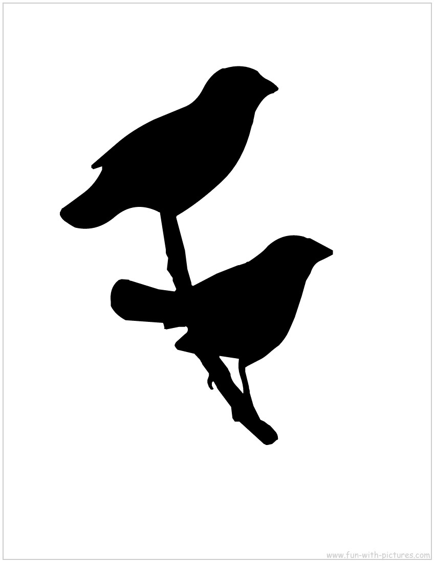 Free bird silhouette clipart vector black and white Free Bird Silhouette Art, Download Free Clip Art, Free Clip Art on ... vector black and white