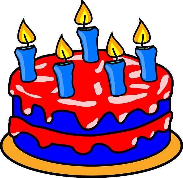 Free birthday cake clip art images svg royalty free library Pin by Majka Liptakova on Party - mix | Pinterest | Party mix svg royalty free library