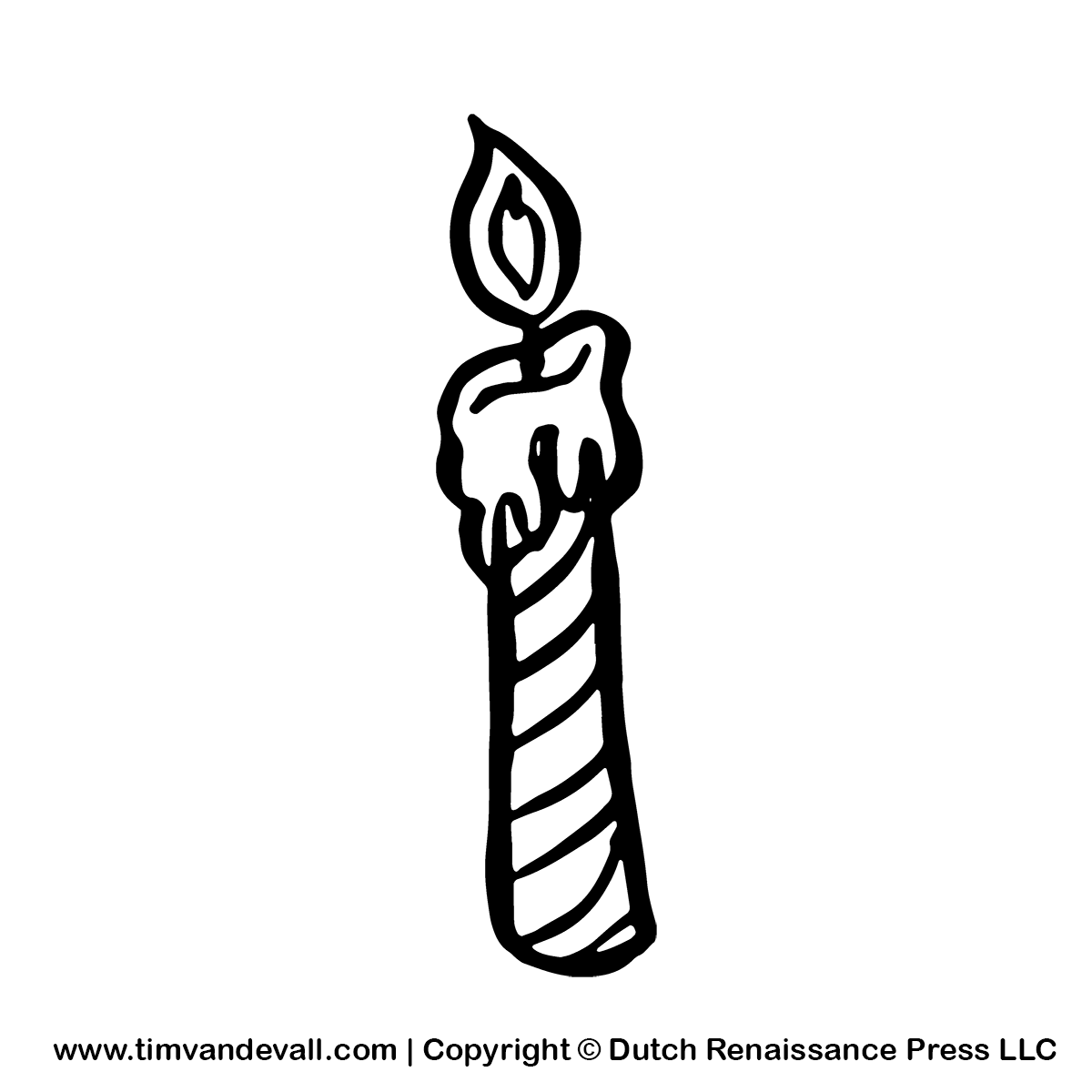 Free birthday candle clipart svg royalty free download Birthday Candle Clipart - Clipart Kid svg royalty free download
