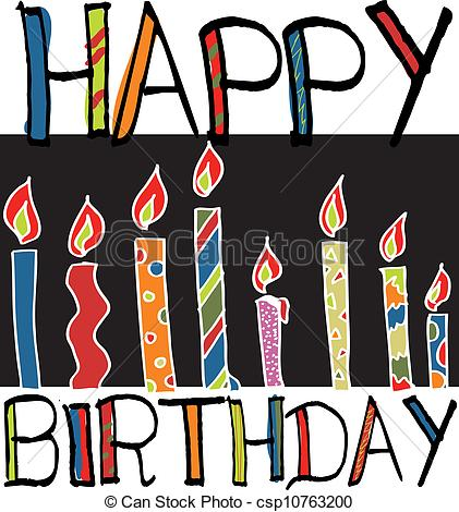 Free birthday candle clipart transparent download Free clipart birthday candles - ClipartFest transparent download