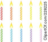 Free birthday candle clipart png free Royalty-Free (RF) Birthday Candle Clipart, Illustrations, Vector ... png free
