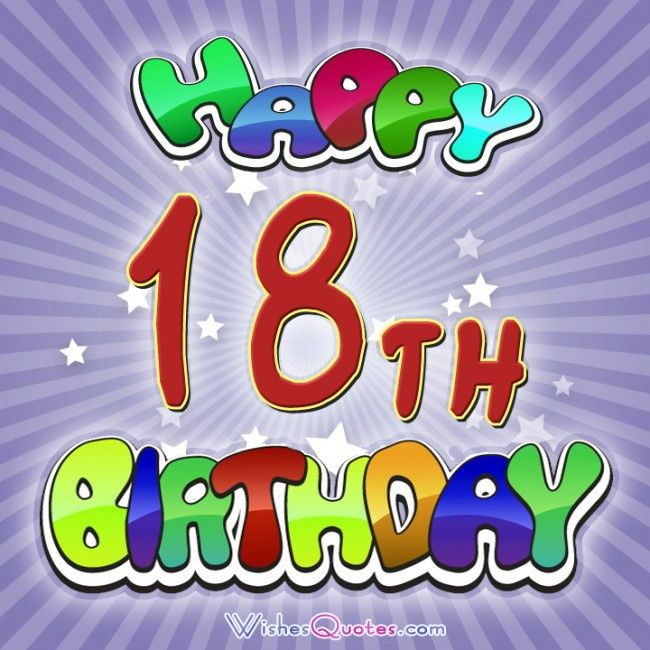 Free birthday clipart for 18 year old.  th wishes quotes