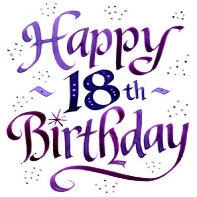 Happy pictures download best. Free birthday clipart for 18 year old