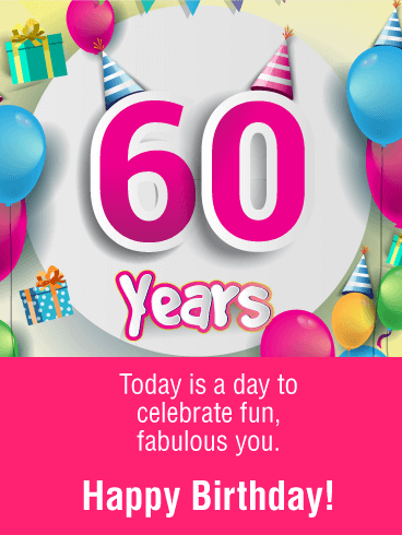 Free birthday clipart for 60 year old female vector black and white This fun & fabulous card is a wonderful way to wish your favorite 60 ... vector black and white