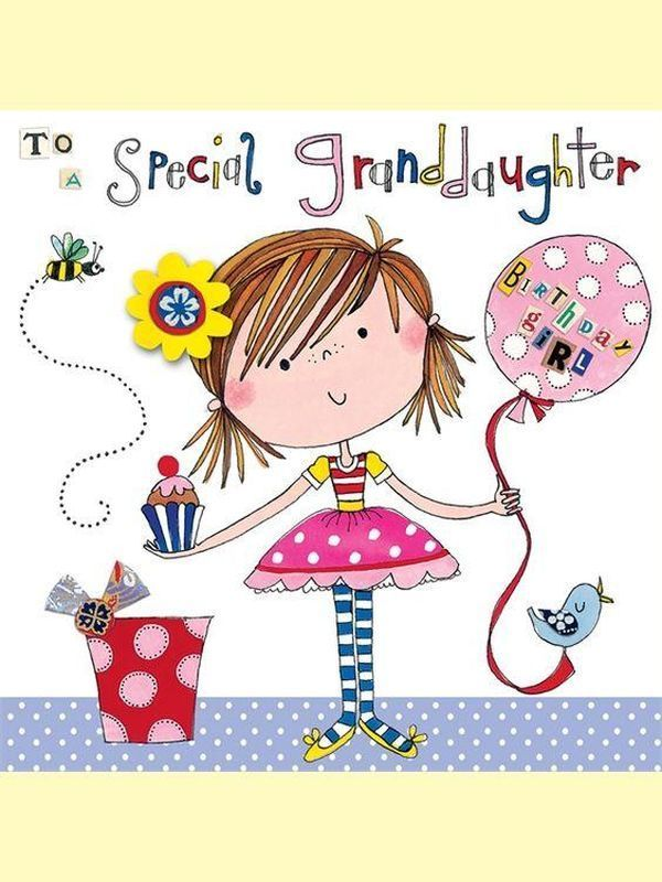 Free birthday clipart for a 8 year old girl clip art Happy Birthday Wishes for Granddaughter clip art