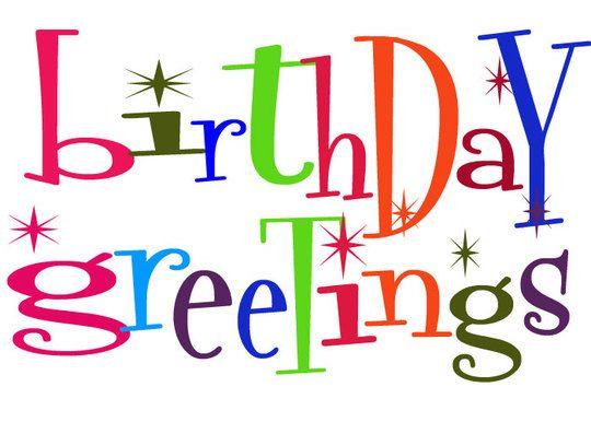 Free birthday clipart for facebook jpg black and white stock Birthday Wishes Clipart & Birthday Wishes Clip Art Images ... jpg black and white stock